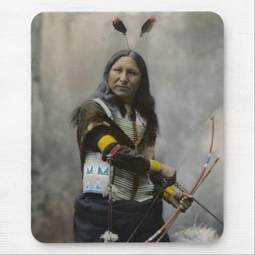 Rop på den Oglala Sioux indier 1899 Mus Mattor
