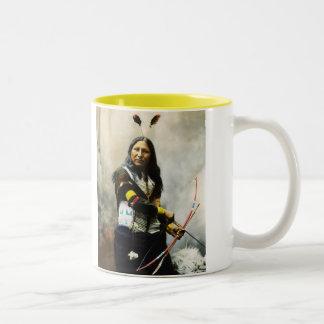 """""""Rop på"""" indier Kaffe Mugg"""