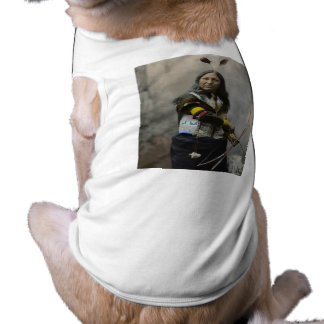 Rop på Oglala Sioux 1899 Hund Tee Shirt