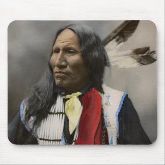 Rop på Oglala Sioux 1899 indiska vintage Musmatta