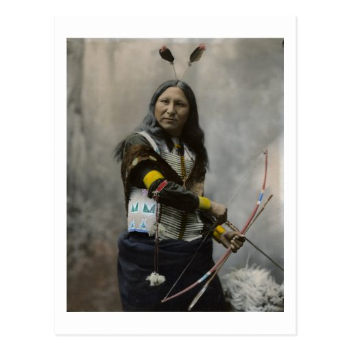 Rop på, Oglala Sioux, 1899 Vykort