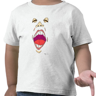 """Rop"" småbarnT-tröja"
