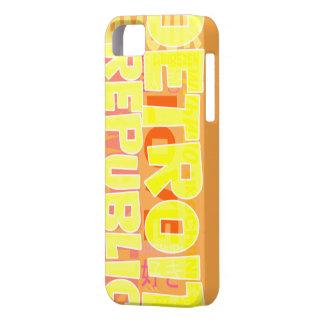 Rop ut Detroit iPhone 5 Fodral