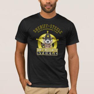 Röra inte med den Steele T-tröja Tee Shirt