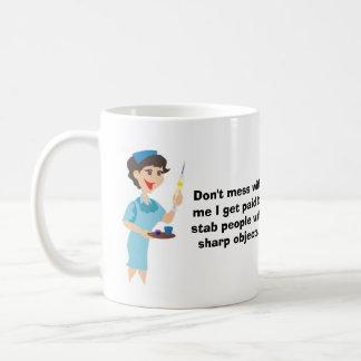 Röra inte med mig kaffemugg
