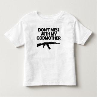 Röra inte med min gudmor t-shirt