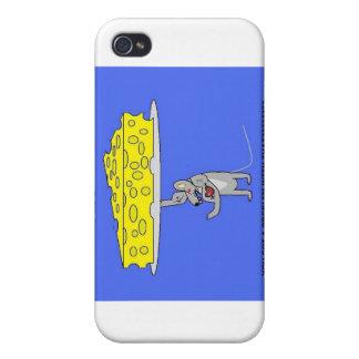 röra mus för ost iPhone 4 cover