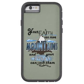 Röra tro för berg ringer jag fodral tough xtreme iPhone 6 case