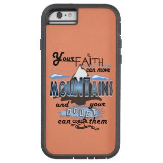 Röra tro för berg ringer jag fodralpersikan tough xtreme iPhone 6 fodral
