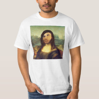 Röra upp Mona Lisa ansikteskjorta Tröja