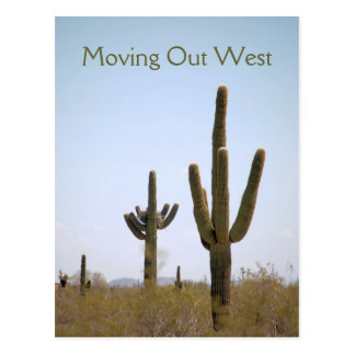 Röra ut västra vykort