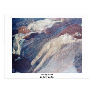 Röra vatten av Klimt Gustav Vykort