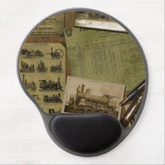 Rörlig Gel Mousepad för vintage Gelé Musmattor