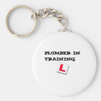rörmokare i utbildning rund nyckelring