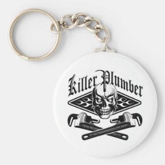 Rörmokareskalle: Mördarerörmokare 3,1 Rund Nyckelring