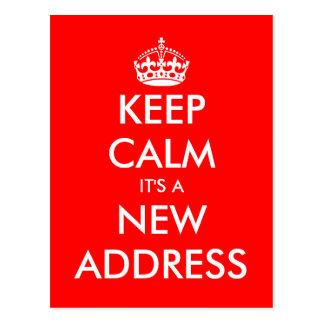 Rörs vykort för ny adress behållalugn