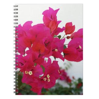 Rosa anteckningsbok för Bougainvillea 2