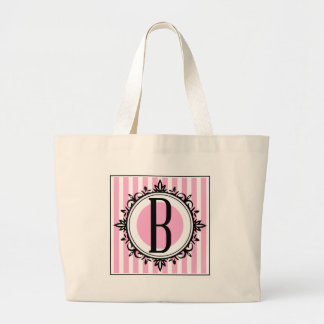 Rosa b- monogram tote bags