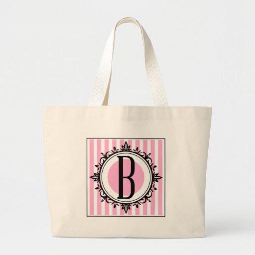 """Rosa b-"""" monogram tote bags"""