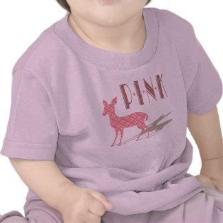 Rosa Bambi babyT-tröja