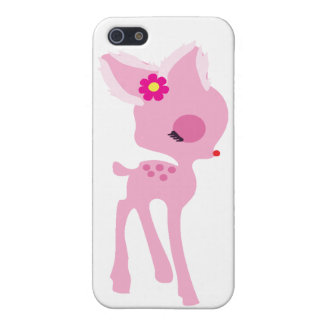 rosa bambihjortiphone case iPhone 5 cases