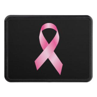 Rosa band - bröstcancermedvetenhet dragkroksskydd