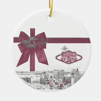 ROSA bandgod jul från Las Vegas Ornamen Jul Dekorationer