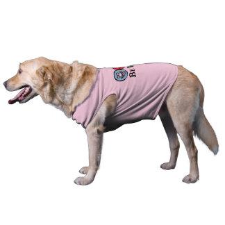 Rosa bekläda för Smily *Dog för ansikte (var Hundtröja
