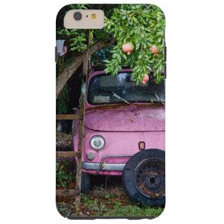 Rosa bil under Pomegranateträd i Tuscany Tough iPhone 6 Plus Skal