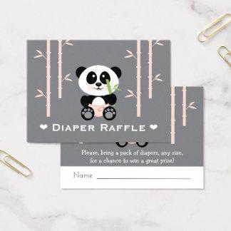 Rosa biljetter för PandablöjaRaffle