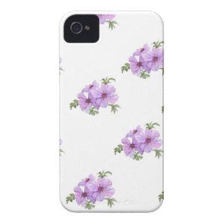 Rosa blackberry boldfodral för vintage Case-Mate iPhone 4 case