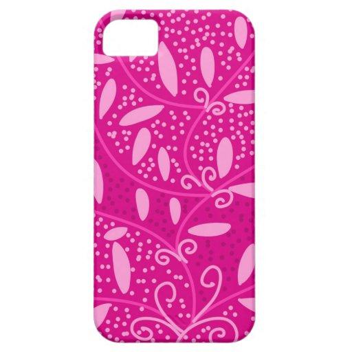 Rosa blom- chic design iPhone 5 cover