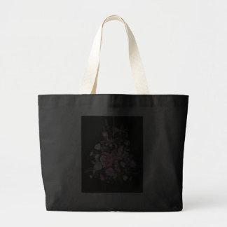 Rosa blom- toto tote bags