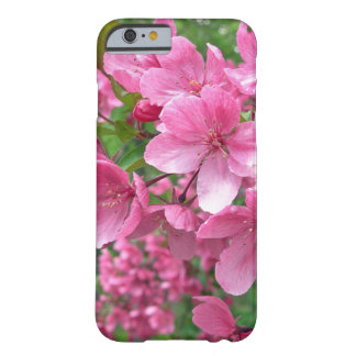 Rosa blommar barely there iPhone 6 skal
