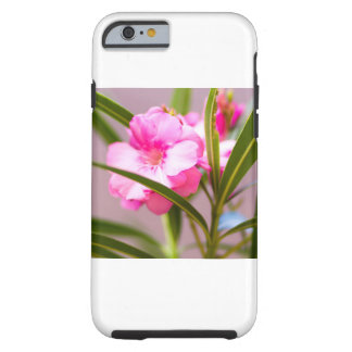 Rosa blommigt tough iPhone 6 case