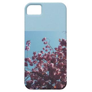 Rosa blommigttelefonfodral iPhone 5 Case-Mate fodraler