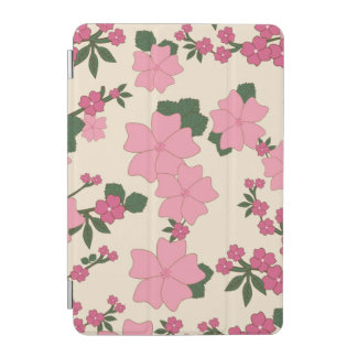 Rosa blommönster iPad mini skydd