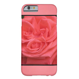Rosa blommor barely there iPhone 6 fodral