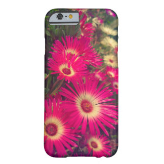 Rosa blommor barely there iPhone 6 skal