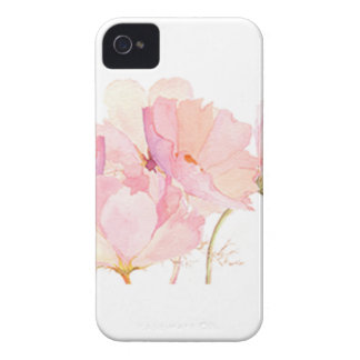 rosa blommor iPhone 4 cover