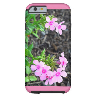 Rosa blommor tough iPhone 6 fodral