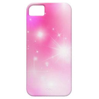 Rosa Bokeh stjärnor iPhone 5 Case-Mate Fodraler