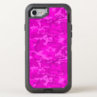 Rosa Camo OtterBox Defender iPhone 7 Skal