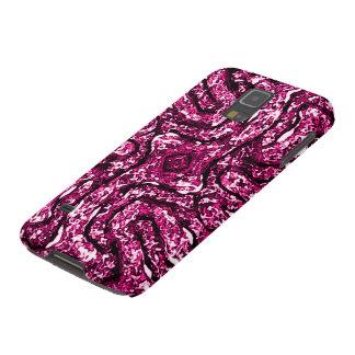 Rosa Celtic andligt fnurrasymbol Galaxy S5 Fodral