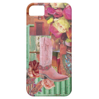 Rosa Cowboykänga iPhone 5 Case-Mate Cases