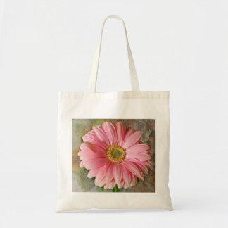 Rosa daisy på budget- toto tote bag
