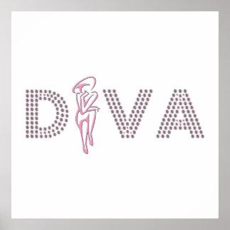 Rosa Diva Poster