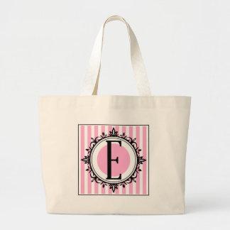Rosa e- monogram tote bags