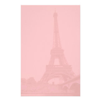 Rosa Eiffel tornbrevpapper Brevpapper