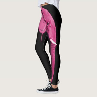 Rosa elefant leggings